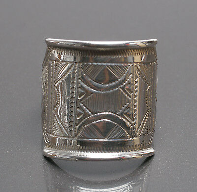 Stunning Silver Tuareg Touareg Ring with Gift Box - African Jewellery