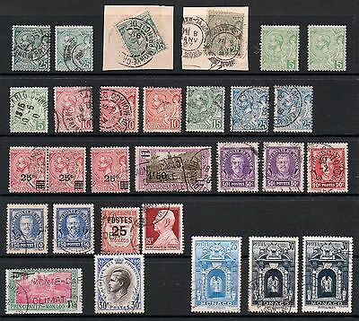 MONACO selection 1891 to 1955 used with a few early mint *GOOD VALUE* HIGH CAT *