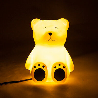 Teddy Bear LED Table Kids Night Light Lamp Decor - Great Baby Gift!