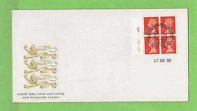 G.B. 1993 Walsall HB6 Pl. No. booklet pane Royal Mail First Day Cover,Windsor