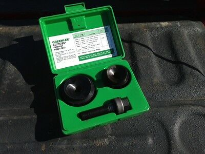 """Greenlee Knockout Punch Set #737BB with Case 1-1/2"""" and 2"""""""