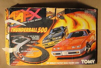 Afx Thunderball 500 Tomy 8608 Box Only