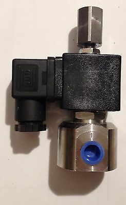 Three-way 12V Solenoid Process Valve SVO / WVO 3 way vegetable oil STC Brand