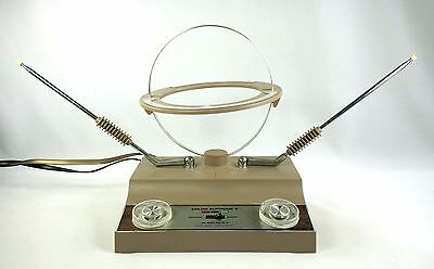 Archer Color Supreme V Amplified Television Antenna VHF UHF Rabbit Ears 1830B