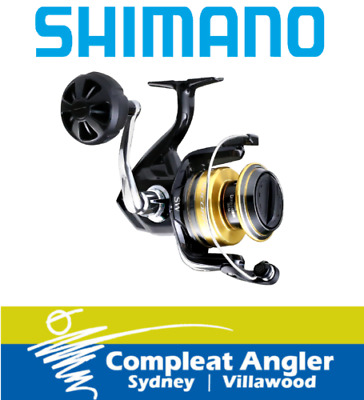 Shimano Socorro SW 6000 Spin Fishing Reel BRAND NEW At Compleat Angler