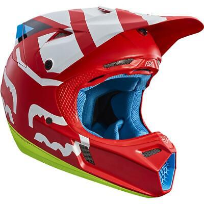 NEW Fox V3 Creo Red Helmet RUN OUT SALE! from Moto Heaven