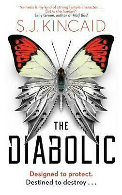 The Diabolic by S.J. Kincaid Paperback Book