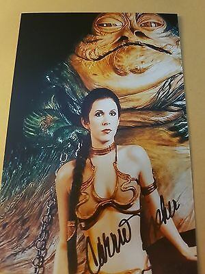 Carrie Fisher Star Wars Autogramm #4905