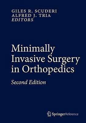 Minimally Invasive Surgery in Orthopedics (English) Hardcover Book Free Shipping