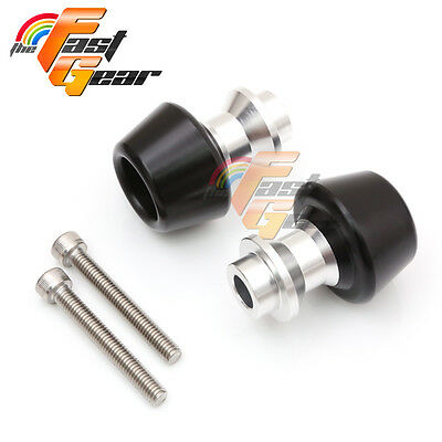 Silver Swingarm Spools Sliders Set Fit Yamaha YZF R6 1999-2015