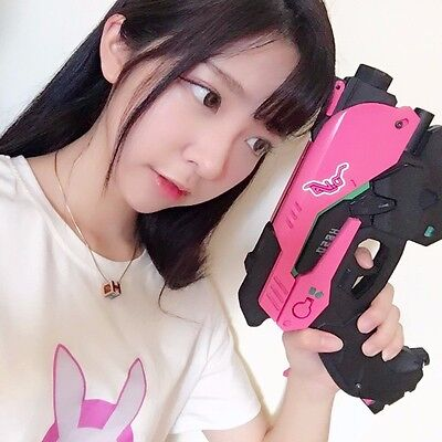 Game Overwatch DVA Headset Cosplay Prop Gun Weapons Accessories Toy Xmas Gifts