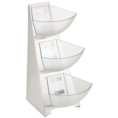 APS 3 Tier Multi Rack Kitchen Buffet Food Stand Dish Storage Unit Basket