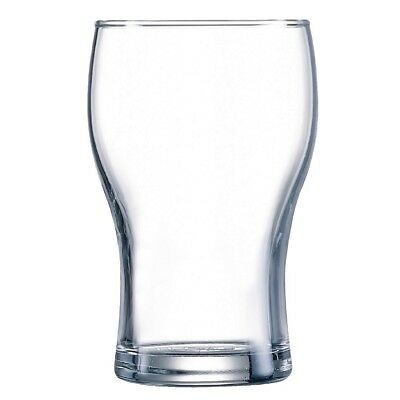48x Arcoroc Washington Beer Glasses 425ml Cocktail Wine Drinking Tumblers Bar