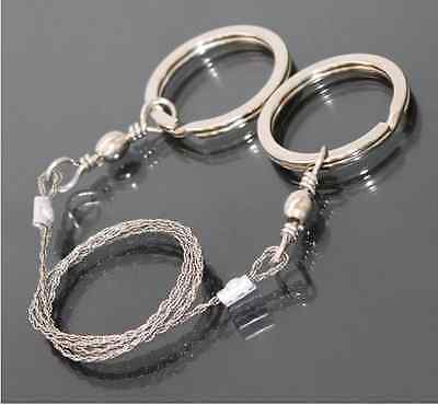 Stainless Steel Wire Camping Saw Commando Survival Emergency Rope Saw