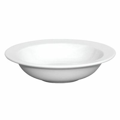 12x Olympia Whiteware Wide Rim Bowls 180mm Kitchen Serving Dishes Tableware