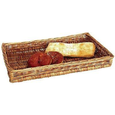 APS Counter Display Basket Wicker Fruit Storage Hamper Tray Kitchen