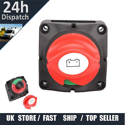 12V Marine Battery Isolator Switch On Off Power Control Knob 300A Boat Yacht
