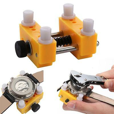 Holder Adjustable Watchmaker Repair Tool Watch Back Case Cover Remover Opener