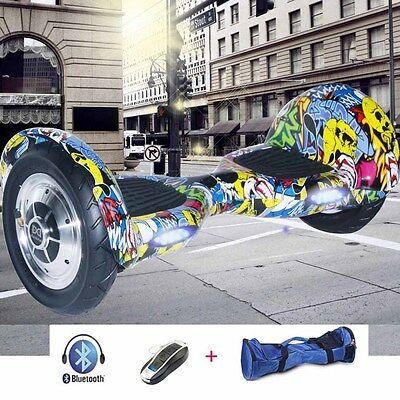 "10"" Elettrico Scooter Overboard Smart Balance Monopattino   Skateboard Bluetooth"