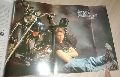 JASON PRIESTLEY BEVERLEY HILLS 90210 PIN UP POSTER Thai Magazine Clipping