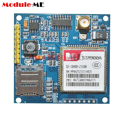 NEW SIM900A 1800/1900 MHz Wireless Extension Module GSM GPRS Board + Antenna UK