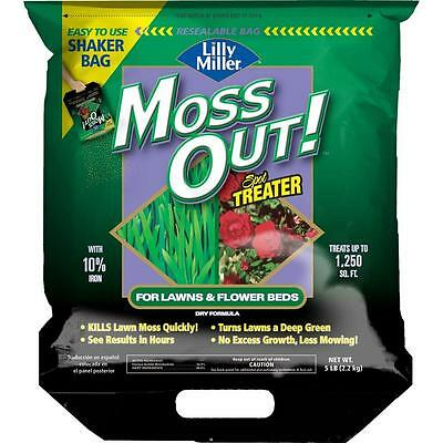 Lilly Miller 5 lb. Moss Out Ready-to-Use Lawn Granules Shaker Bag