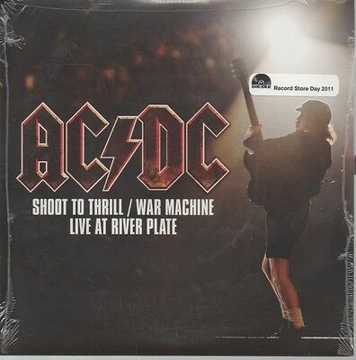 "AC DC   Rare 2011 USA Only 7"" Mint Factory Sealed P/C Single ""Shoot To Thrill"""