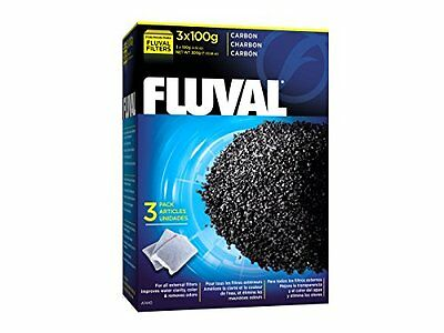 Hagen Fluval Carbon 3X100g Bags Pet Last Longer New UK SELLER UK SELLER