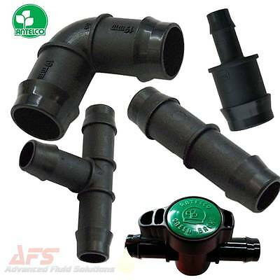 Hose Joiner/Connector/Mender/Tail - Polyprop Plastic Barbed Fittings - Silicone