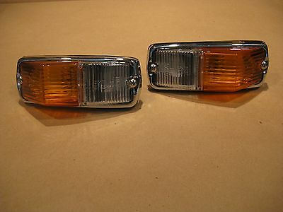 "MGB & Triumph GT6, Spitfire ""new"" pair  FLASHER / SIDE MARKER LAMP Assys L677"