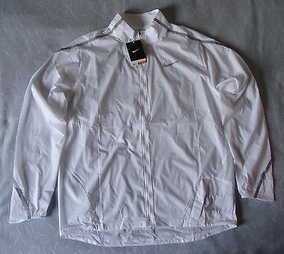 Nike Impossibly Light Men's Running Jacket (777416 100), White, Size L, BNWT