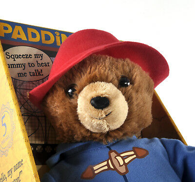 Paddington Bear Movie Talking Toy