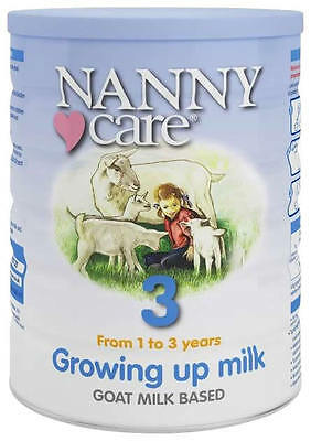 Nanny Care, Growing up Milk, Goat Milk Based, From 1 to 3 Years, 400g