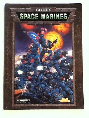 Warhammer 40K - Codex: Space Marines (Games Workshop, 1998)