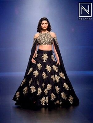Bollywood Designer Wedding Party Wear Indian Ethnic Lehenga Choli Saree New