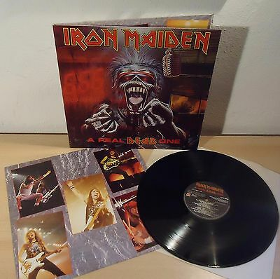 Iron Maiden : A Real Dead One    -    1993  Lp  Italy