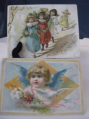 Vintage Lion Coffee Christmas  & Easter Card Advertisements