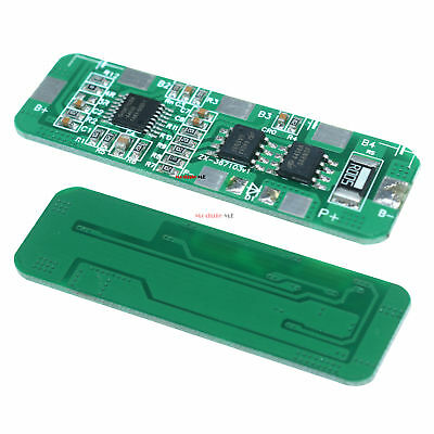 4A-5A PCB BMS Protection Board for 4 Packs 18650 Li-ion lithium Battery Cell MO