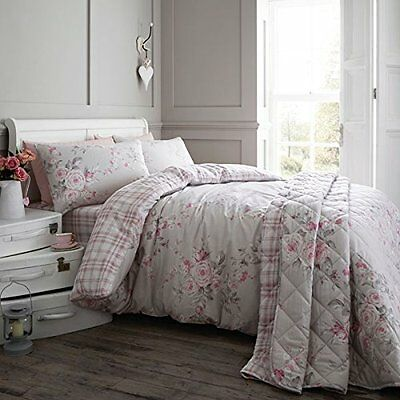 Catherine Lansfield Home Canterbury Brushed Check Flannelette Duvet Cover Set,