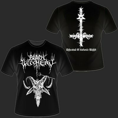 Black Witchery - Upheaval Of Satanic Night - T-Shirt (Archgoat, Blasphemy)