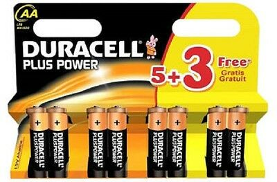Genuine Duracell AA, LR6, MN1500 Alkaline Battery Batteries  Best Before 2019