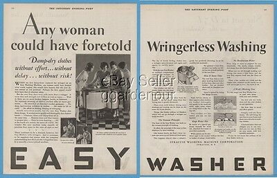 1928 Syracuse Washing Machine Corp New York Easy Washer Antique Appliance Ad