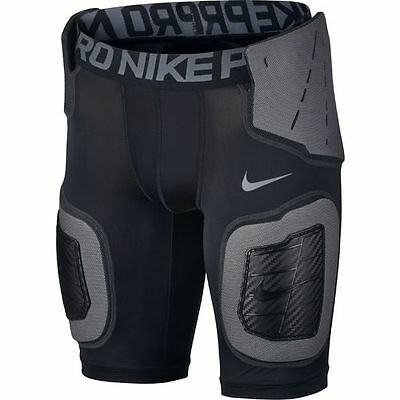 Nike Pro Hyperstrong Football Core Shorts Big Kids Boys Size L Large Rugby