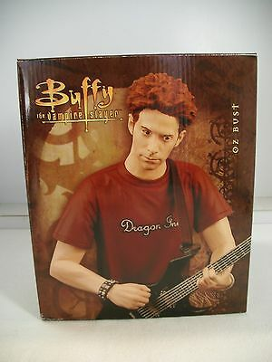 "Buffy the Vampire Slayer OZ 7"" Bust # 96/3000 Gentle Giant NIB Statue Figure"