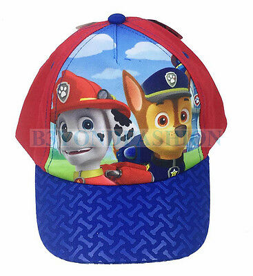 New Nickelodeon Paw Patrol Little Boys Toddler Character Baseball Hat Cap