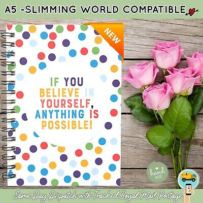 3Mth Diet Diary Food Log Journal Slimming World Compatible  Weight Loss Book 2