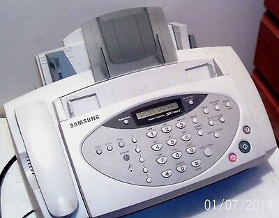 SAMSUNG SF 3100 T - INKJET FACSIMILE - FAX MACHINE - with all leads