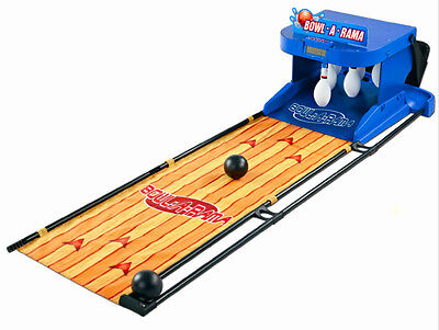 Bowling Arcade Game Kids Indoor Bowlercade Family Room Bowling Alley Lane Pins