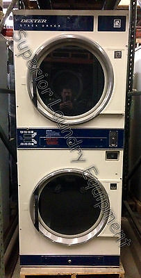 Dexter 30Lb Stack Dryer Dl2X 120V / Gas / Coin Reconditioned