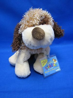 Webkinz Original BROWN CHEEKY DOG HM063 NEW With  Sealed Code